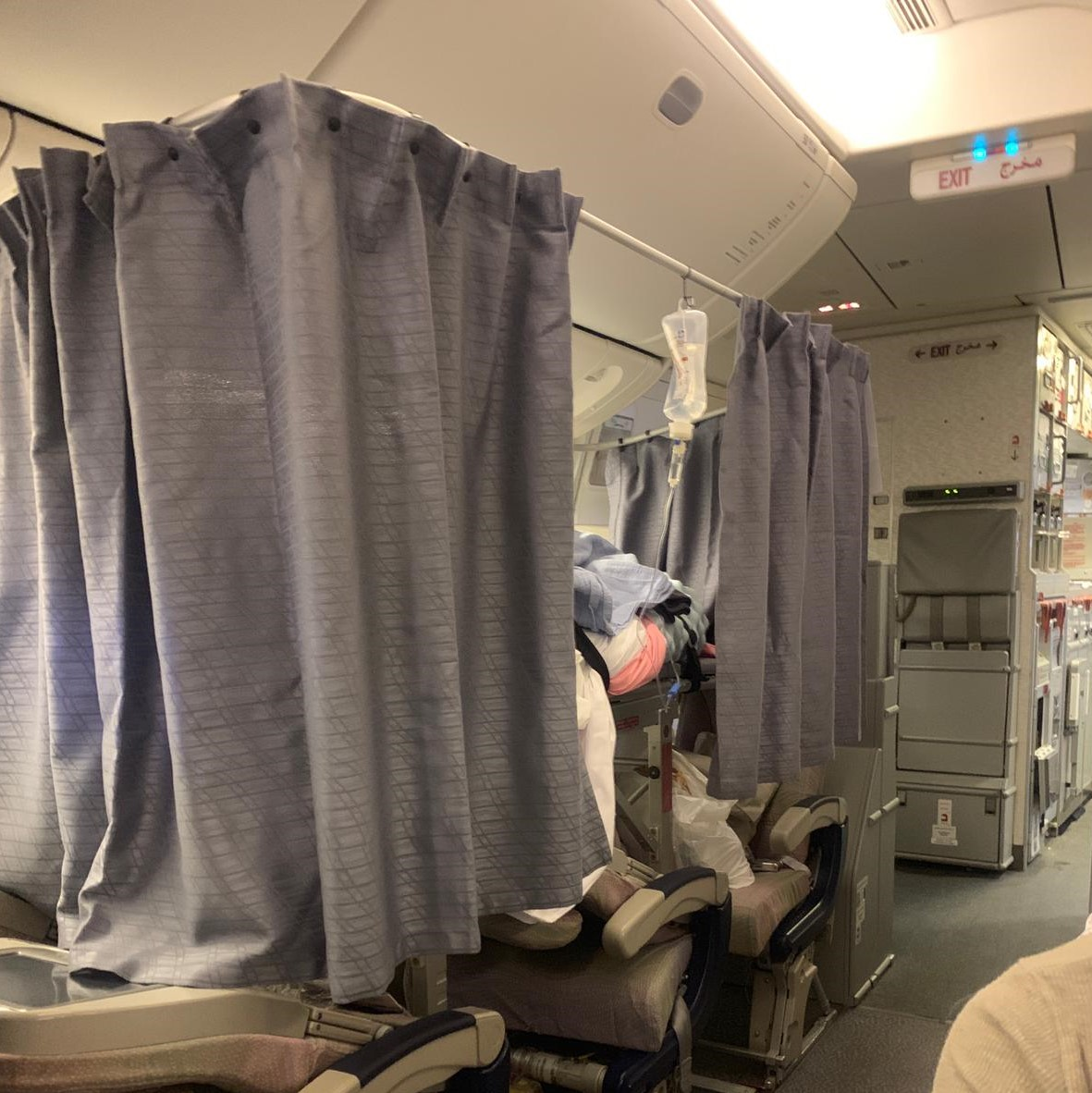 Stretcher Service on Commercial Airline